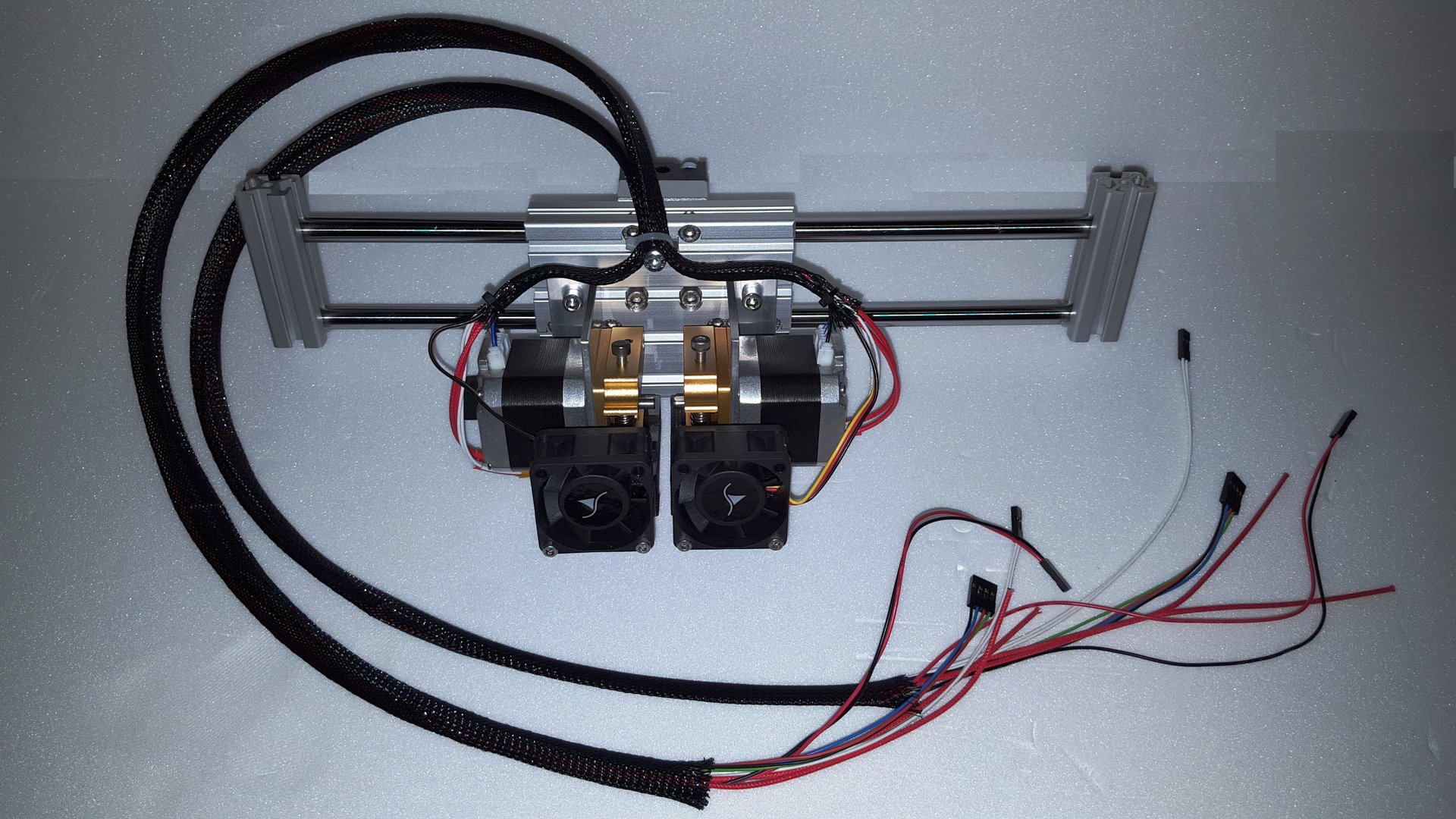 Dual-Extruder Option FWX-B2020